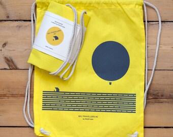 Backpack BIG TRAVELLERS Cotton sack #2