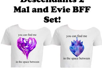 Descendants 2-Inspired Mal and Evie BFF Set