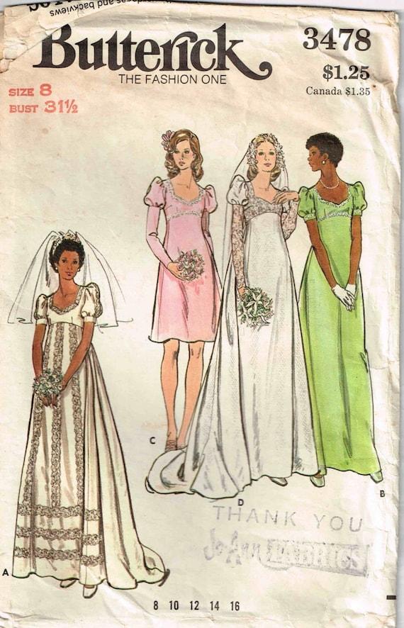Hochzeit Kleid Abend Brautjungfer Braut Kleid Juliet Ärmel