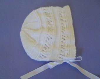 Newborn Girl Hat, Newborn Beanie, Baby Girl Hat, Newborn Gift, Baby Shower Gift, Christening Beanie, Coming Home, Winter Hat