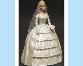 """Barbie """"Brides Dream""""  from Danbury Mint Barbie Figurine Collection, in original Box, Excellent Condition, w/ Reduced Shipping"""