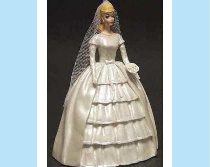 "Barbie ""Brides Dream""  from Danbury Mint Barbie Figurine Collection, in original Box, Excellent Condition, w/ Reduced Shipping"