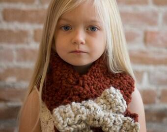 Toddler/Child Bow Scraf