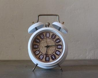 Upcycled Vintage Hungarian Alarm Clock Large