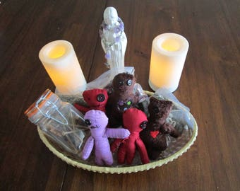 Poppet, Voodoo Doll, Hoodoo, Sympathetic Magic, Magic,Witch, Poppet Magic, Witchcraft, Healing, Protection