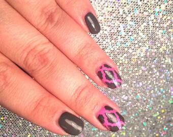 12 Moroccan Lantern pattern vinyl nail stencils for nail art. nail vinyls, nail stencil, nail guide, nail decals, nail stickers,