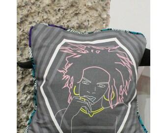 Lauryn Hill cushion