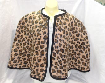 These beautiful animal print Capelets will add excitement to many outfits.  Leopard, Zebra, Multi Animal prints. Coverup, poncho, stylish.