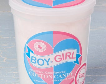 Gender Reveal Cotton Candy - Classic Pink it's a girl!