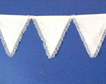 Calico and Lace Bunting