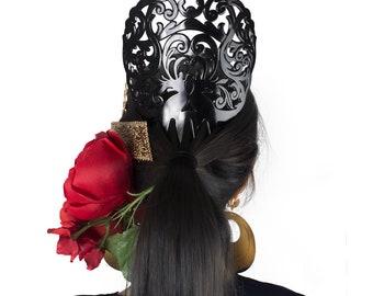 Ole Ole Flamenco Black Comb