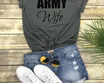 Army Wife, Navy Wife, Mom Life, Unisex Shirt - Mama Bear Shirt, Mom Shirt, Army Wife Gifts, Mother's Day Gift, Love Mom Gifts, Bear Family