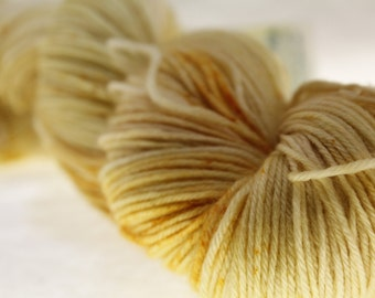 MADE to ORDER Choose Your Weight Hand Dyed Yarn - Sunshine
