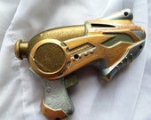 Steampunk Proton Laser Gun Cosplay Prop LARP Accessory Genuine Copper Accents Metallic Paints Hand Painted Lightweight Con Costume Weapon