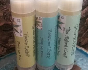 "420 SALE  ""You Choose"" 3 for 4.20 Hemp Lip Balm 0.15 oz tubes"
