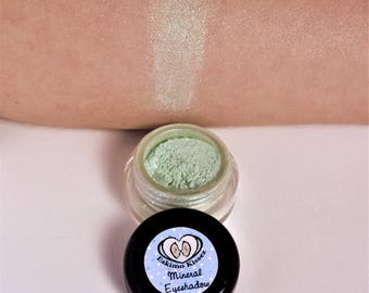 Mineral Eyeshadow MERMAID TALE Organic Makeup 5 gram jar