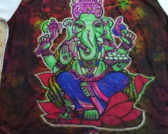 ganesh psychedelic surreal trippy t shirt