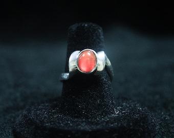 Carnelian Ring 925