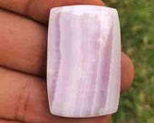 Pink lace agate gemstone ...