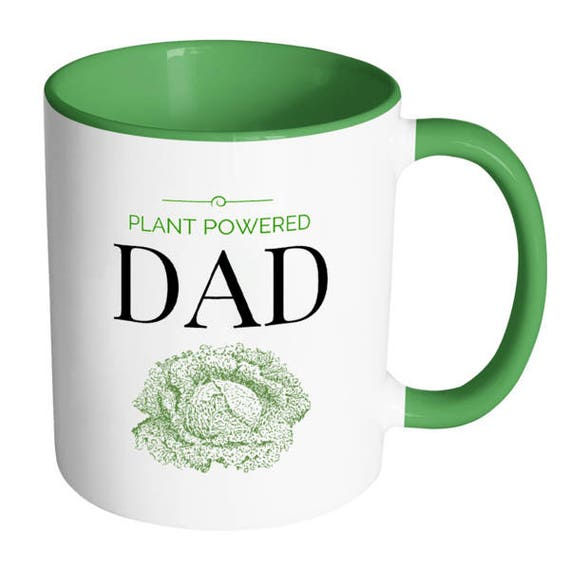 Plant Powered Dad - Gift Mug