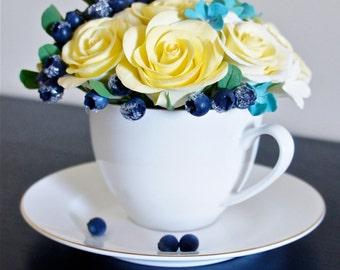 Beautiful Flower Arrangement,Handmade Flowers,Home Decor,