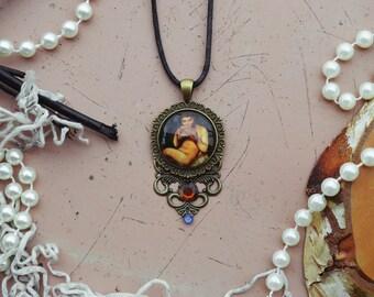 Pan's talisman pendant