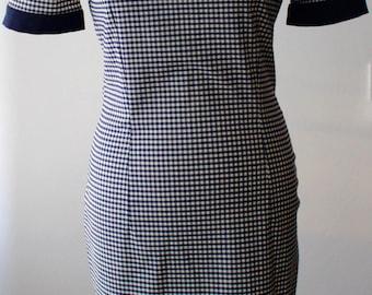 Gingham Dress 1950s