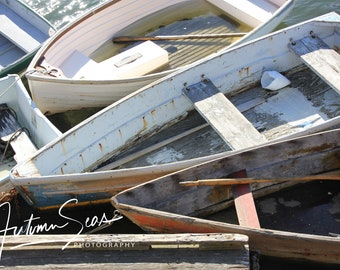 Old Boats in Rockport Harbor
