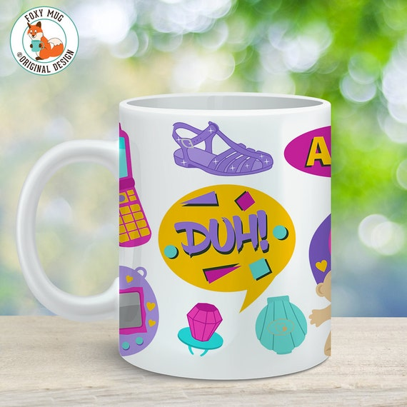 Coffee Mug Nineties Cup - I Love the 90's Mug - 90's Mug - 90's Kid Cup