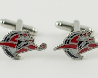 Washington Wizards Cuff Links -- FREE SHIPPING with USPS First Class Domestic Mail