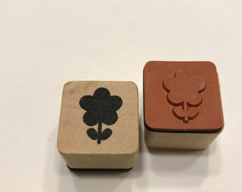 Flower rubber stamp, 20 mm (BB4/10)