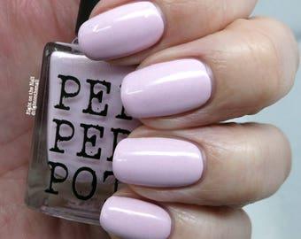 Baby Pink Soft Pink Nail Polish Silver Shimmer Nail Polish The Royal Bath Beauty Gift Under 15 Gift For Her Pepper Pot Polish