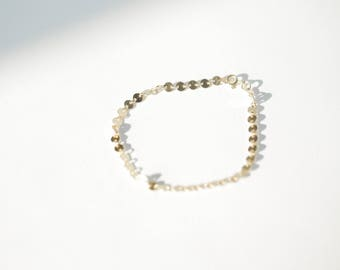 Gold Friendship Bracelet