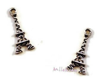 Set of 5 charms Eiffel Tower embellishment scrapbooking card making *.