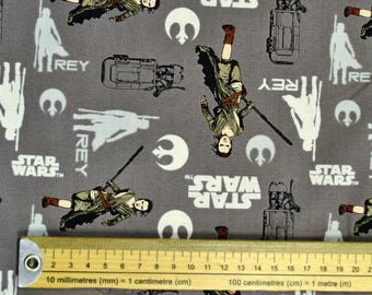 Star Wars VII Fabric: Rey in Iron