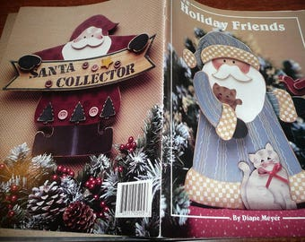 Vintage More Holiday Friends Painting Book