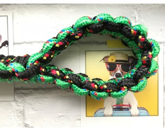 Extra thick paracord dog lead
