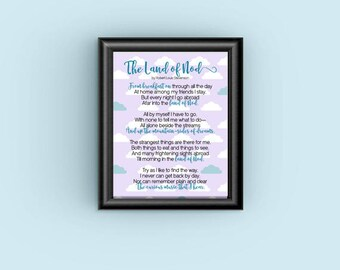 The Land of Nod Digital Print (includes 2 color options)