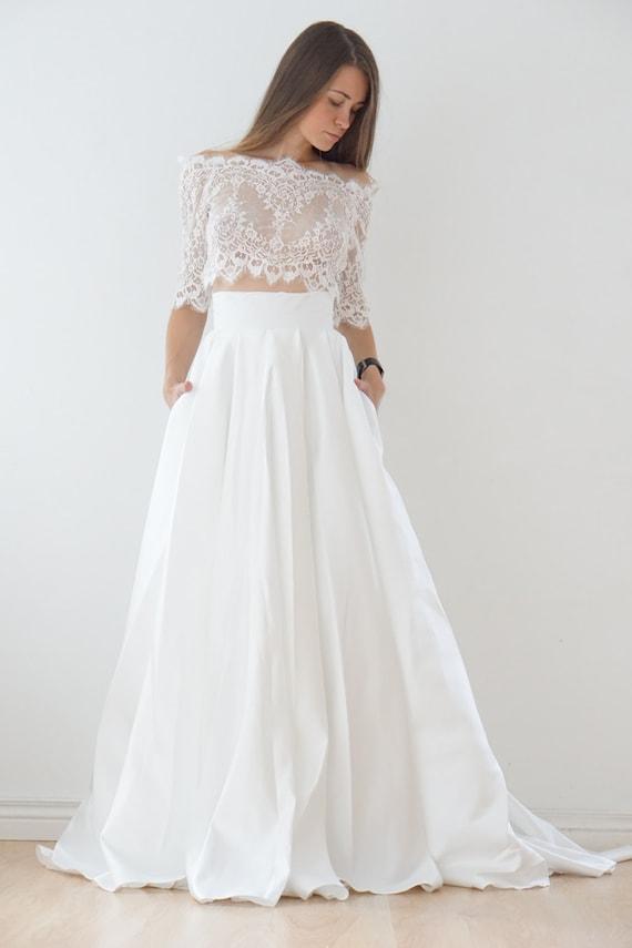 Satin Wedding Gowns