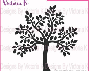 2 Family Tree svg, Iron On Vinyl, (not for paper see other file)SVG, PNG, EPS Files,Wedding, Family,Cricut Design Space, Vinyl cut Files