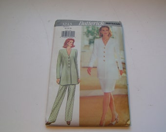 Vintage Butterick Pattern 3243 fast easy Miss Tunic Skirt Pants