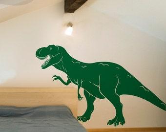 T-Rex Dinosaur - Vinyl Wall Decal