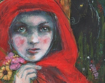 ACEO art reproduction - Don't Stray From The Path