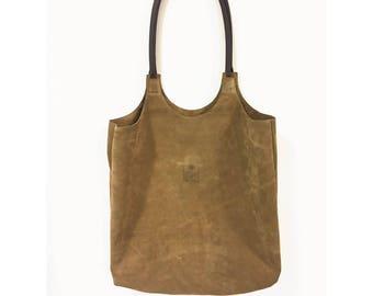 Tote Medium Split leather bag