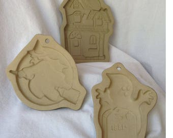 25% OFF!  Instant Collections of Halloween Stone Cookie Molds