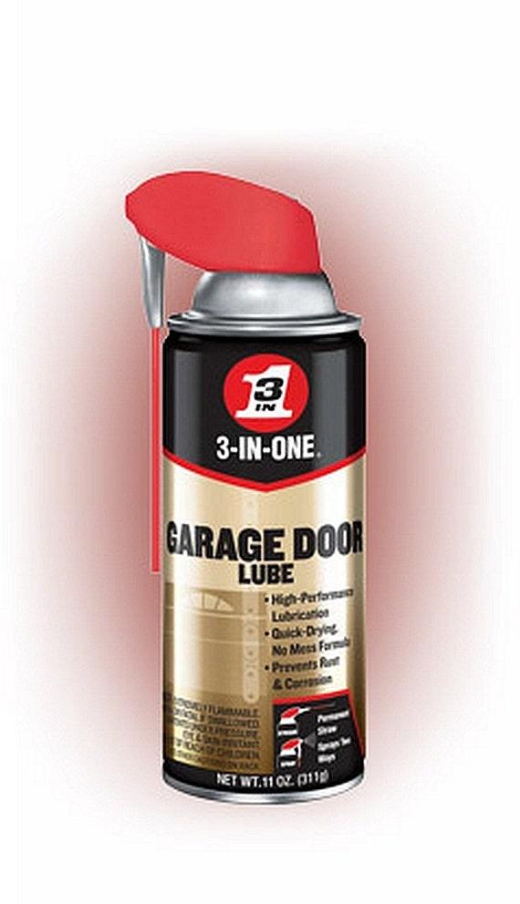 3 In One Garage Door Spray Lube Aerosol Spray Oil Lubricant For