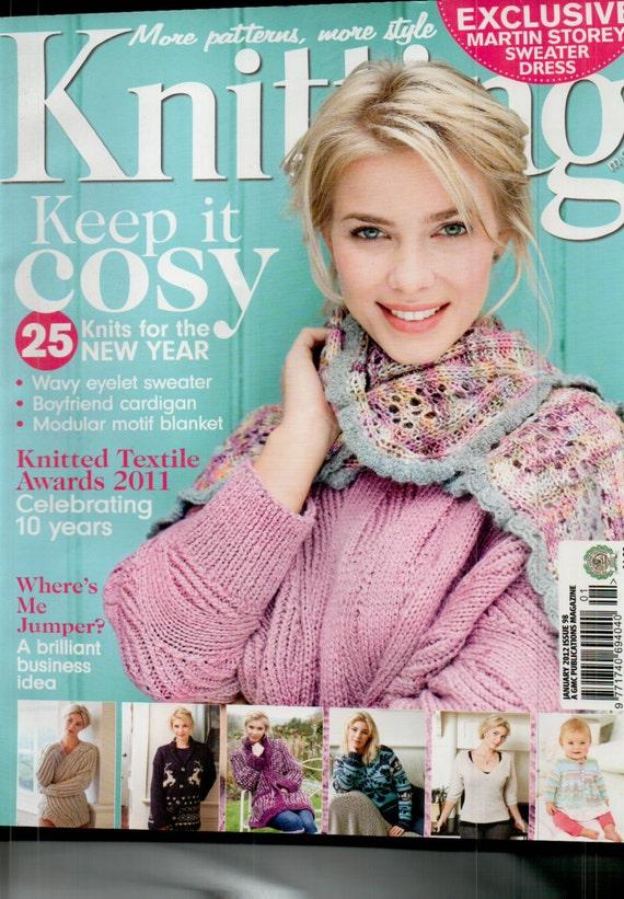 Knitting Magazine Issue 98 January 2012