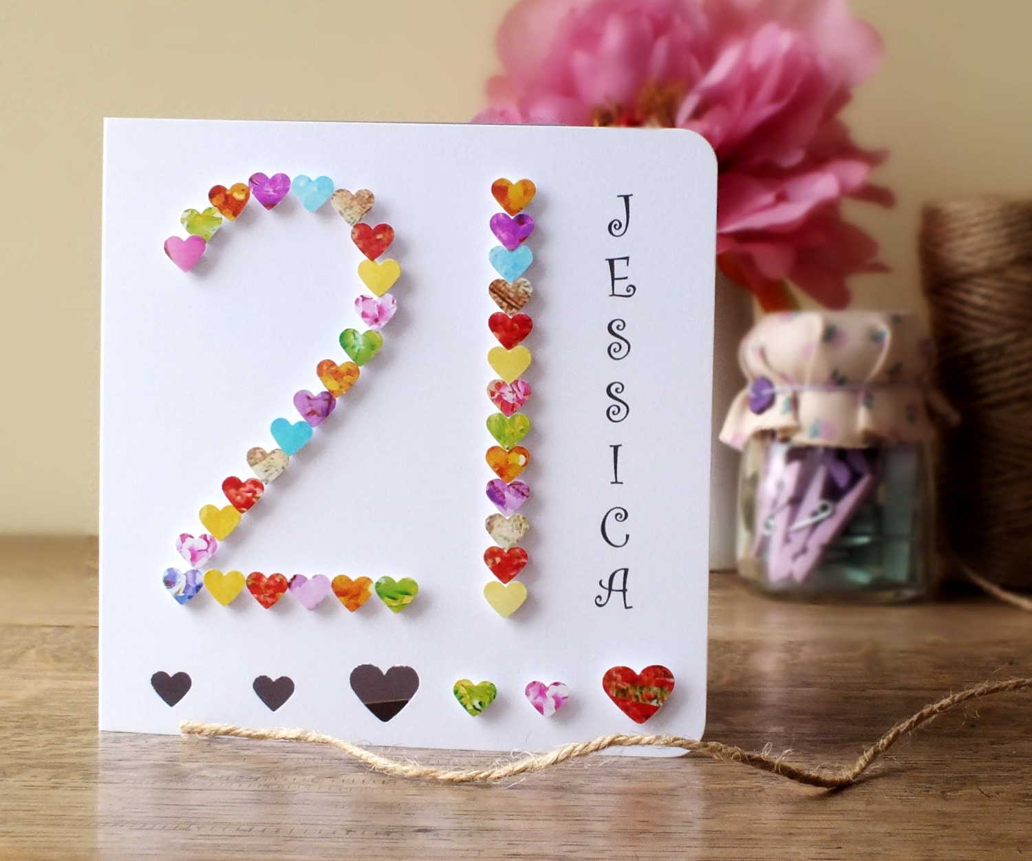 Image Of How To Make Handmade Birthday Cards For Sister Birthday