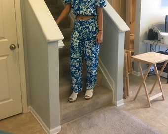 1980's Handmade Summer Pants and Top