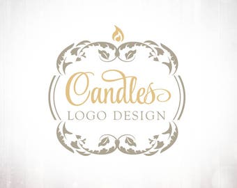 Premade Logo Design • Candle Luxury